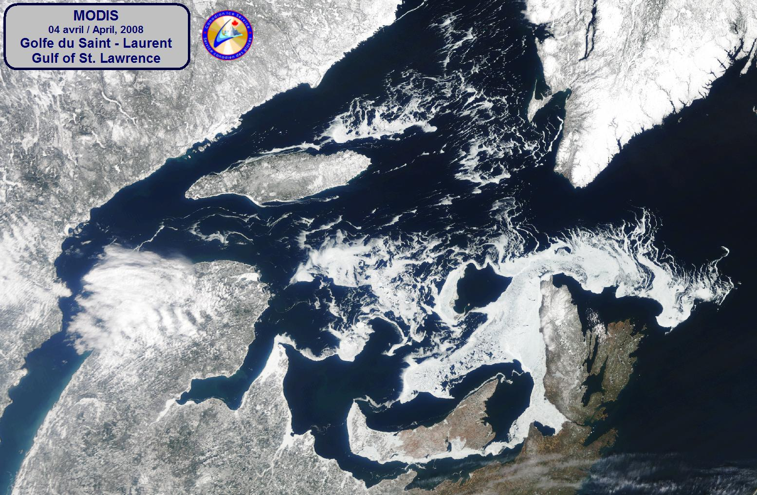 Image of the Gulf of St. Lawrence